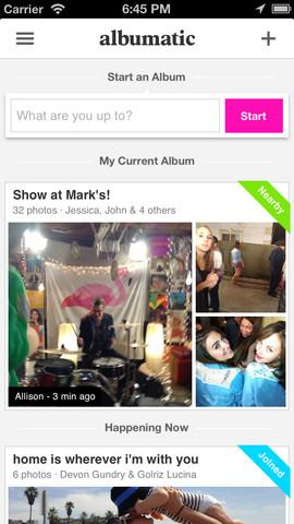 Albumatic screenshot