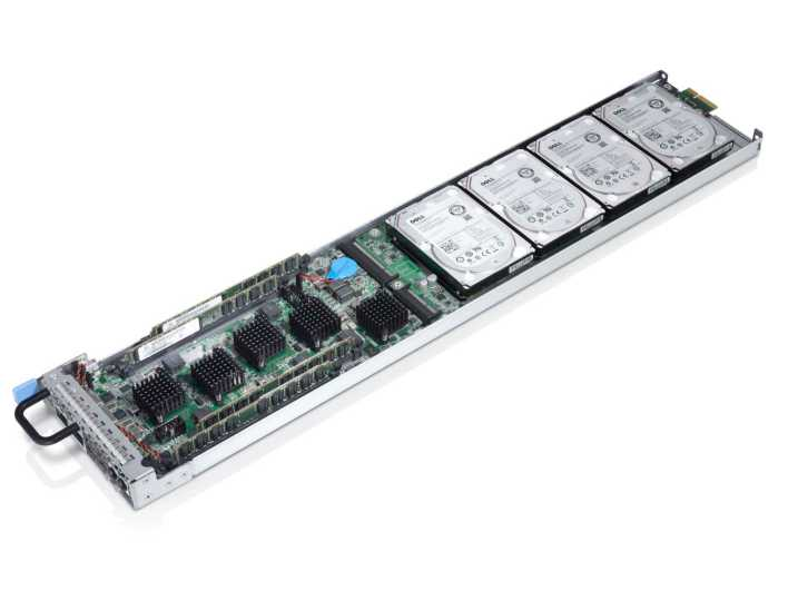 One of Dell's ARM server designs designed to get ARM chips into the data center.
