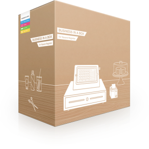 Square reader cash register business in a box
