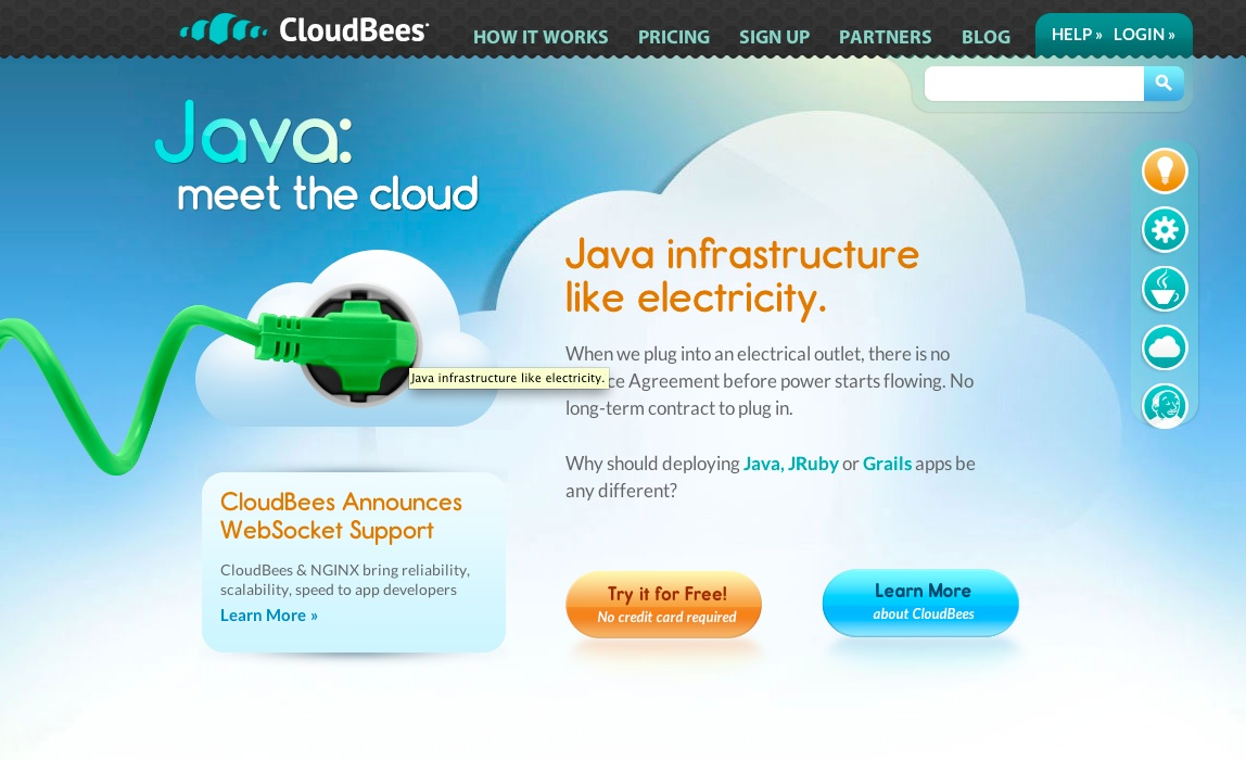 cloudbees screen