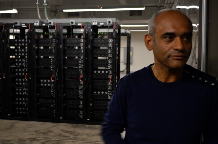 Aereo CEO in front of transcoder