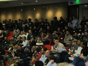 Full house at Netflix open source open house.