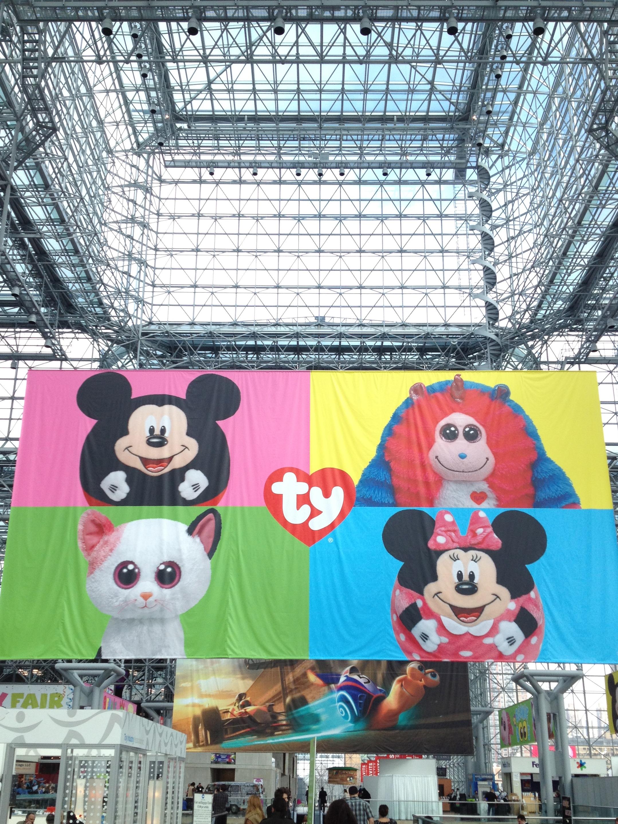 Toy Fair entrance vertical