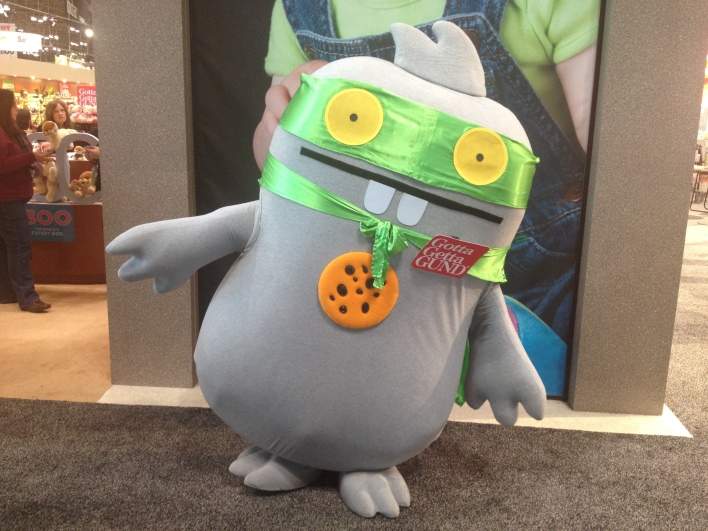 Toy Fair plush