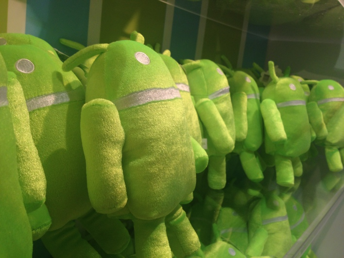 Toy Fair plush Android