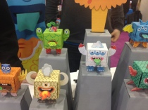 Obos at the Toy Fair Launchpad.