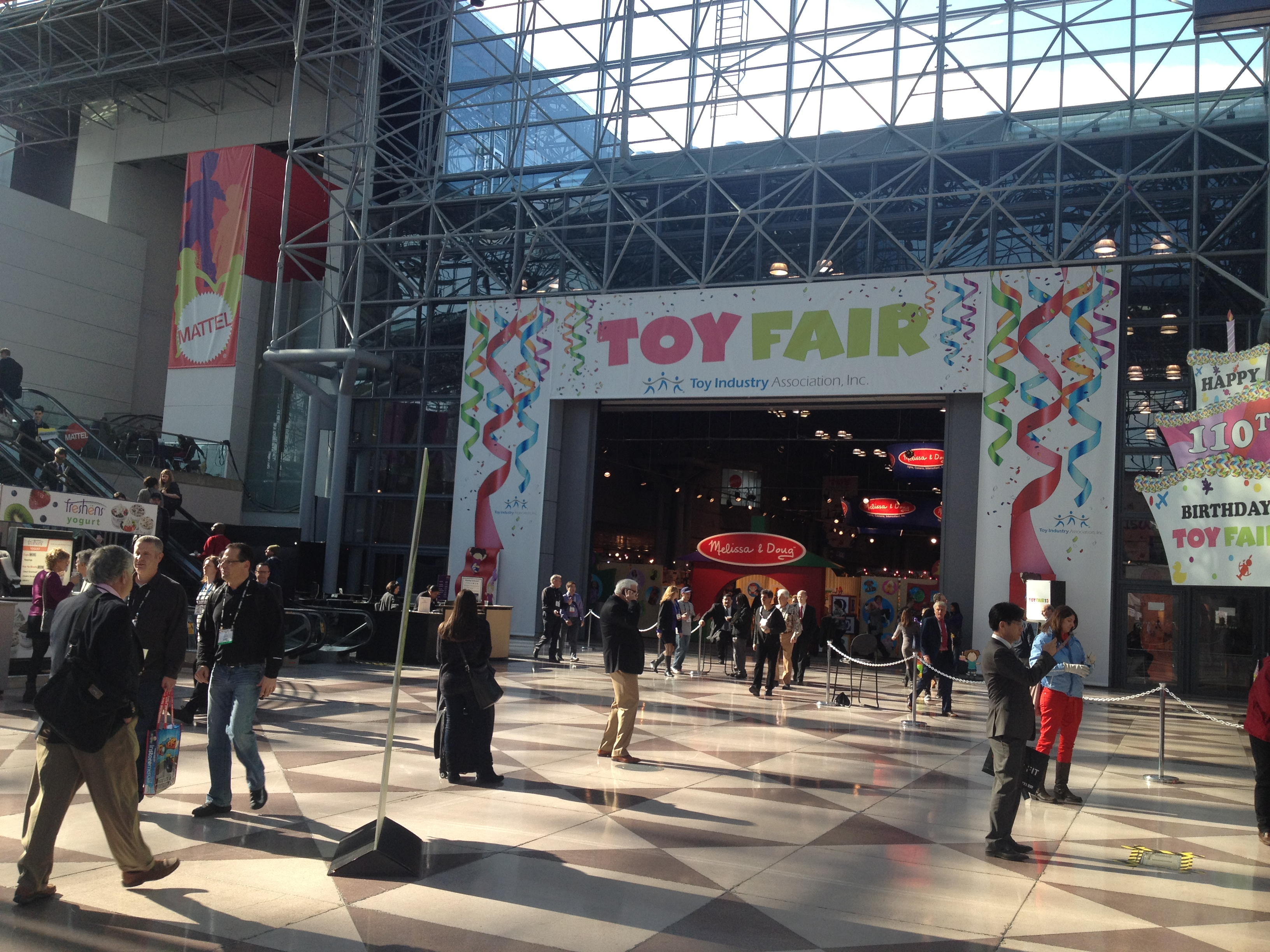 Toy Fair entrance