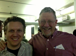 Dave Merrill of Sifteo and Alsop Louie Partners at the meetup.