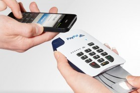 PayPal Here European card reader
