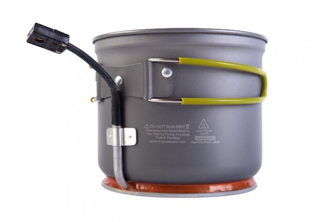 PowerPot with cord