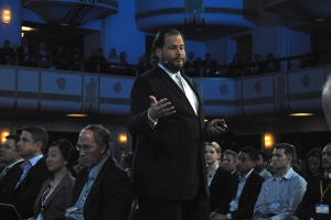 Salesforce.com CEO Marc Benioff.