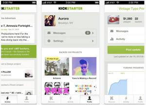 Kickstarter for iOS