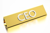 Generic CEO plaque