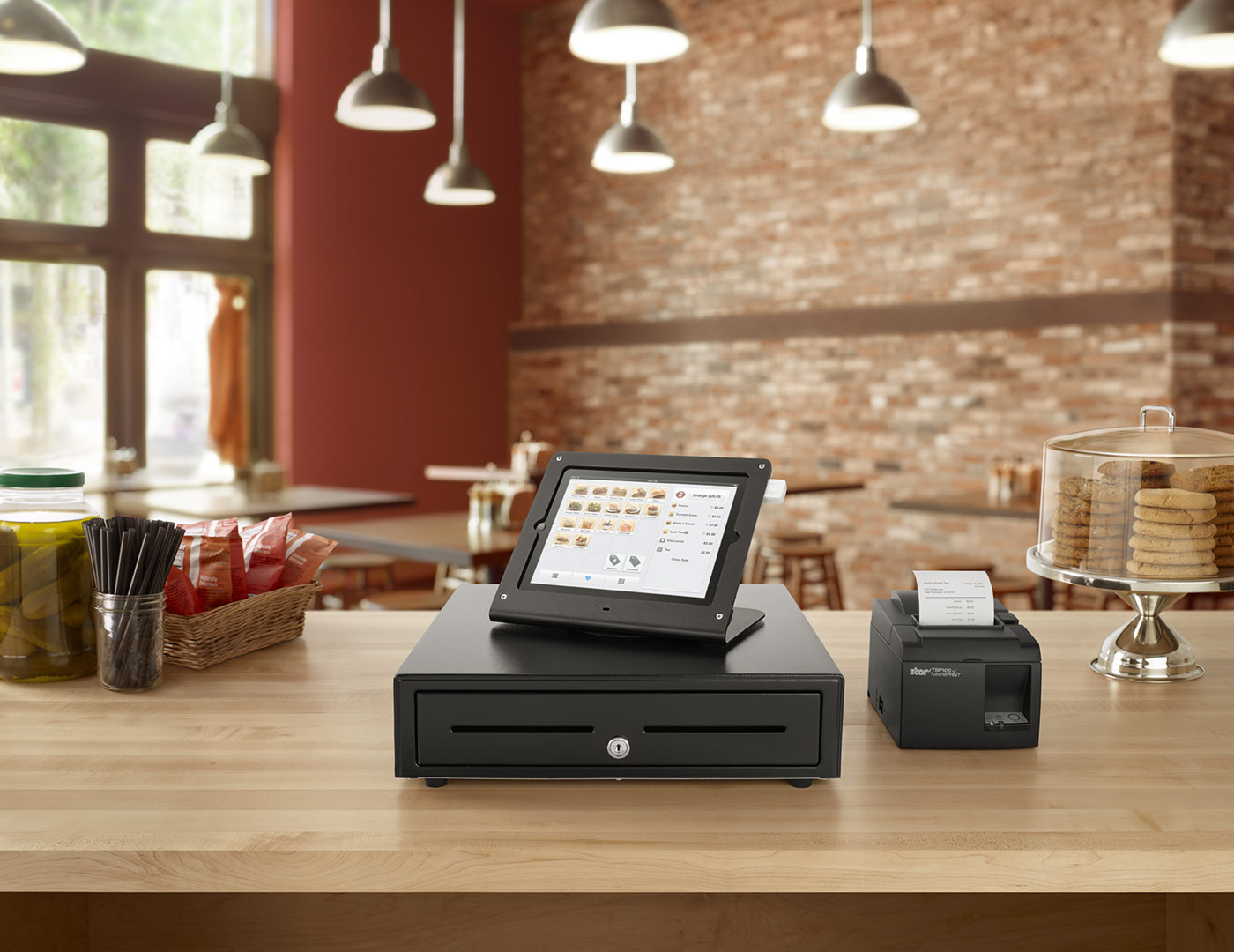 Square payments business in a box