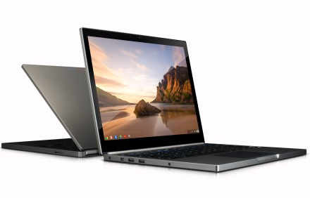 Video look at Google's impressive Chromebook Pixel