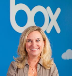 Whitney Bouck, Box'senterprise general manager