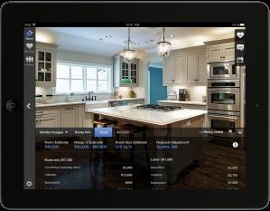 Zillow Digs Estimates iPad screenshot home improvement