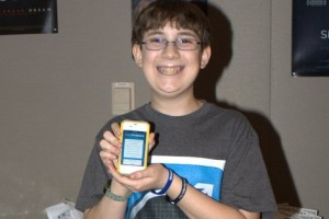 Ethan, The 12 year old who's pitching his app at SXSW