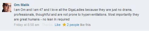 GigaOM Lean In Discussion 8