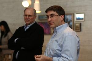 Eric Rudder (foreground) and Craig Mundie (background). Source: Microsoft