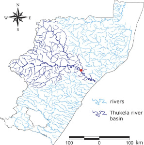 Tracking a cholera outbreak across a river network. Source: Physical Review Letters