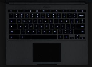 Chromebook Pixel keyboard