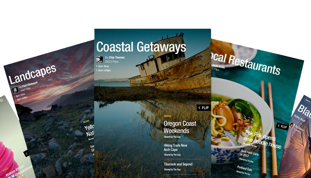 Flipboard-2-Magazine-user created mags