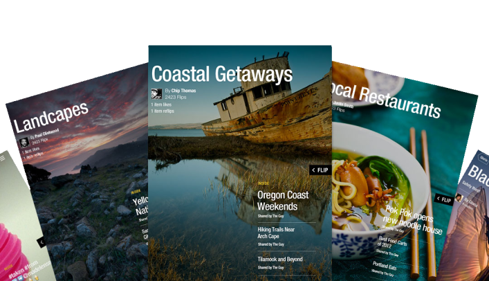 Flipboard-2-Magazine-user created mags