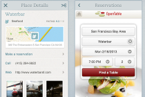 Evernote Food OpenTable