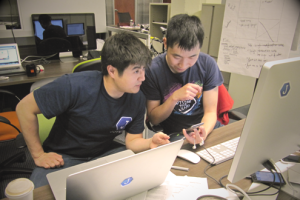 Joyride founders Jeff Chen and James Zhang