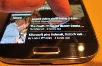 Galaxy S 4 Air Touch in Flipboard
