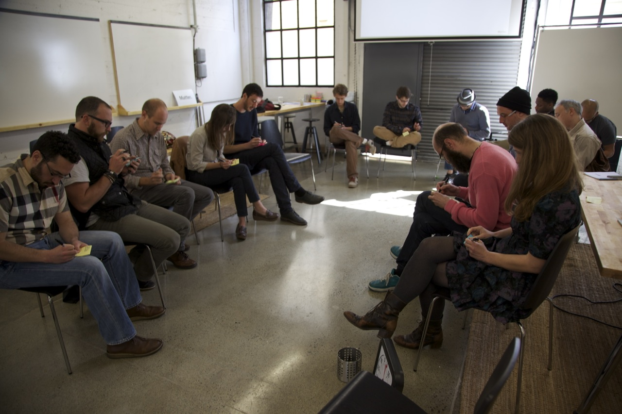 A recent bootcamp for Matter accelerator companies.