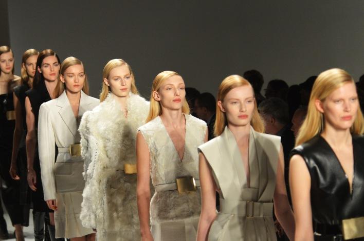 Calvin Klein Collection - Front Row - Fall 2013 Mercedes-Benz Fashion Week