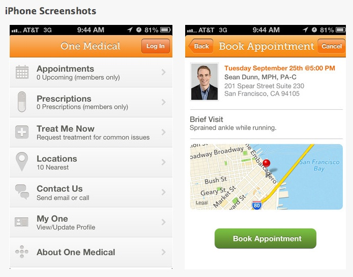 One Medical Group: Tech-savvy medical practice.