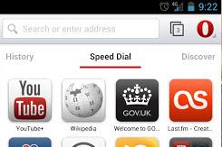Opera Android beta