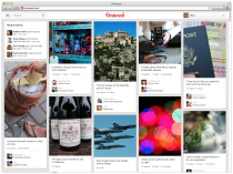 pinterest layout