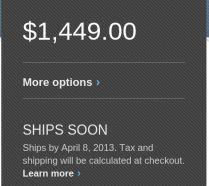 Pixel LTE shipment