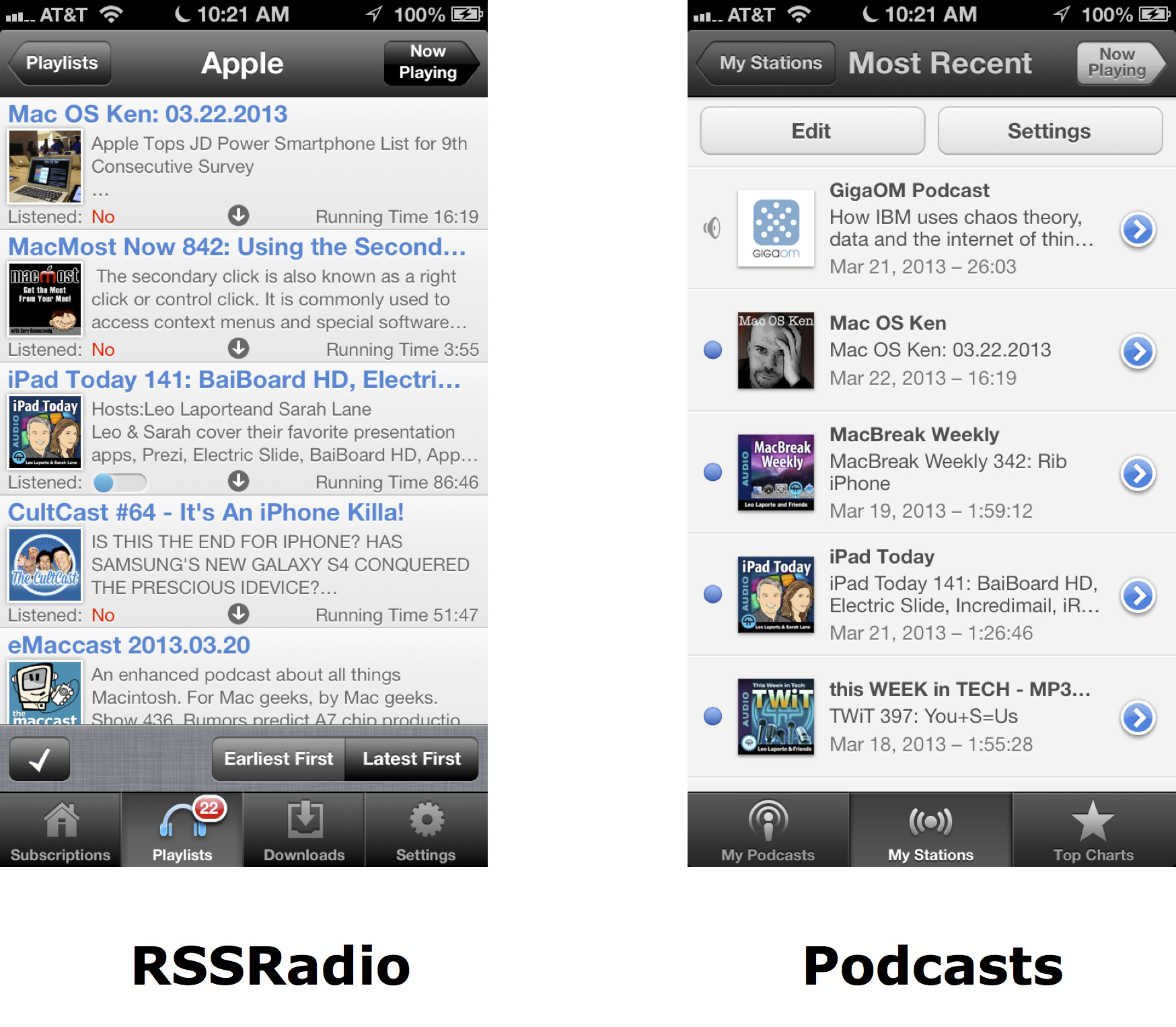 Podcast Playlist