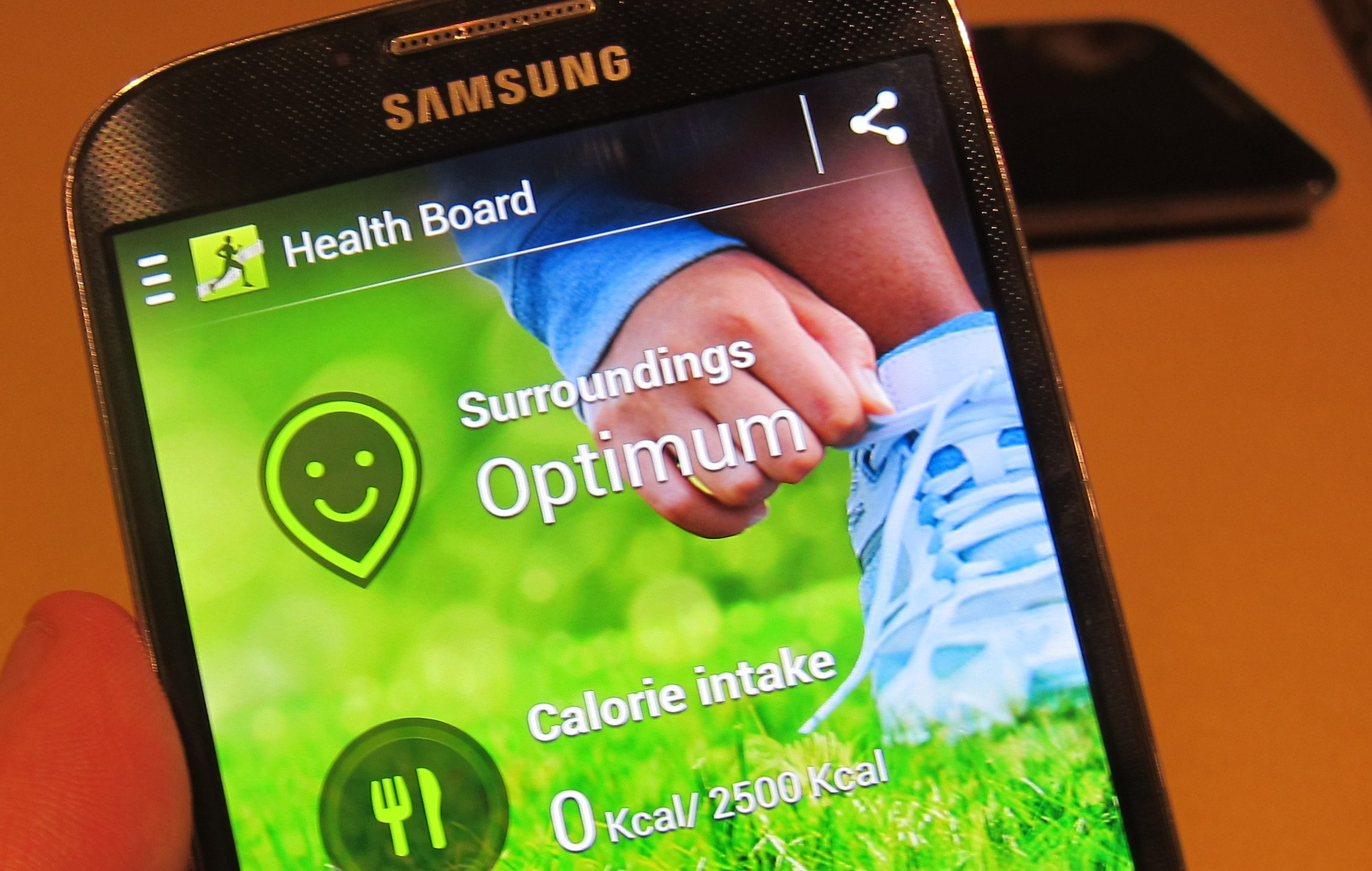 S-Health on the Galaxy S 4