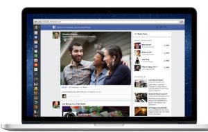 Screenshot Facebook newsfeed