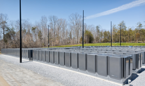 Bloom Energy fuel cells at Apple's data center. Image courtesy of Gigaom.