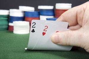 Deuces, cards, poker