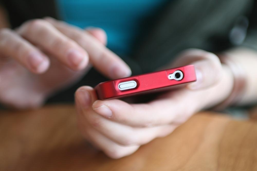 smartphone hands