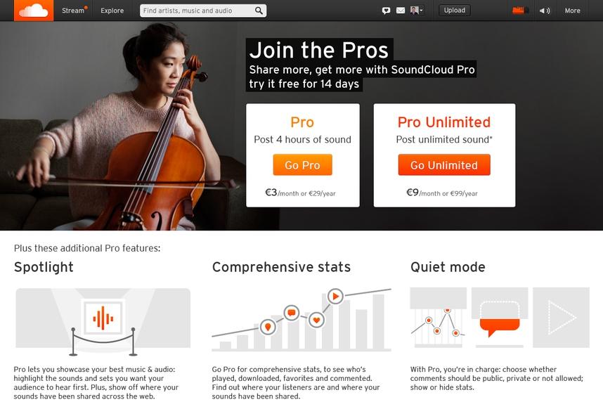 SoundCloud Premium