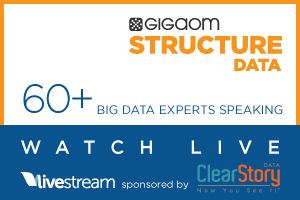 GigaOM Structure:Data: Watch Live