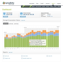 Syncplicity screen shot