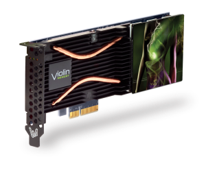 Violin Memory's new 1.37 TB PCIe card