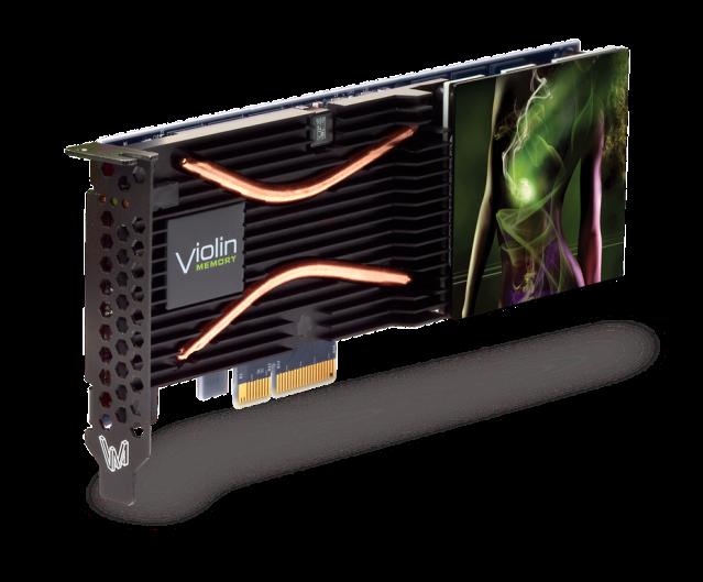 Violin Memory's new 1.37 TB PCIe card