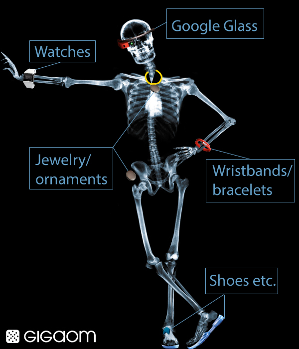 Meet Homo Erectus Connectus -- or, if you prefer, Wearable Man (infographic)