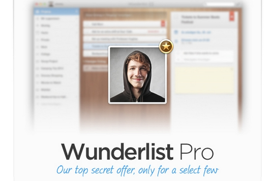 Wunderlist Pro